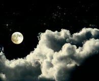 Volle maan royalty-vrije stock afbeelding