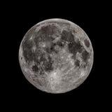 Volle maan van de daling equinox van al zijn glorie stock afbeelding