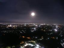 Volle maanfenomenen Stock Afbeelding