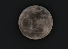 Volle maanfoto Royalty-vrije Stock Afbeelding