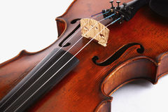 Volle Violine Stockfoto