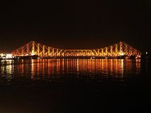 Volle Vorderansicht von Howrah-Brücke Stockfotos