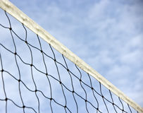 Volleball net background stock images