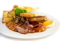 Volledig Australisch ontbijt Royalty-vrije Stock Foto's