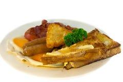 Volledig Australisch ontbijt Stock Foto's