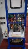 Volledig automatische verpakkingsmachine stock afbeelding