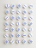 Volledig blauw dwarspatroon Stock Afbeeldingen