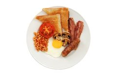 Volledig Engels ontbijt Stock Afbeeldingen