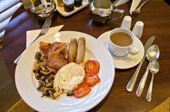 Volledig Engels ontbijt Royalty-vrije Stock Foto's