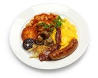 Volledig Engels ontbijt Stock Foto