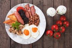 Volledig Engels ontbijt Royalty-vrije Stock Foto
