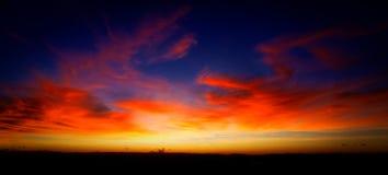 Volledig gekleurde hemel Royalty-vrije Stock Foto's