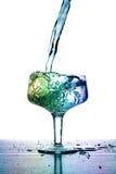 Volledig glas Stock Afbeeldingen