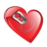 Volledig hart Stock Foto