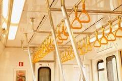 Volledig - mening binnen metro Royalty-vrije Stock Afbeeldingen