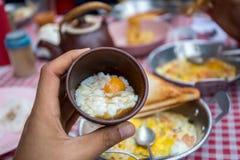 Volledig ontbijt Stock Foto's