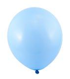 Volledig opgeblazen geïsoleerde luchtballon Stock Afbeelding