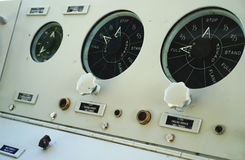 Volledig snelheids vooruit onderzees paneel Stock Afbeelding