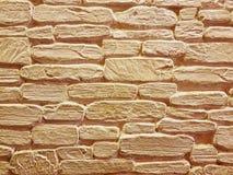 Volledige Kaderachtergrond van Decoratieve Bakstenen muur Royalty-vrije Stock Foto