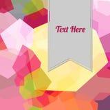 Volledige kleuren abstracte achtergrond Stock Afbeeldingen