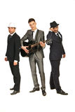 Volledige lengte van muzikale band Royalty-vrije Stock Fotografie