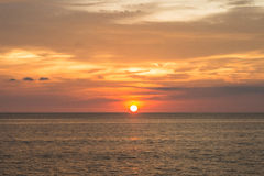 Volledige zonsopgang Stock Afbeelding