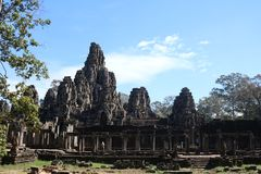 Voller Ankor Wat Temple lizenzfreies stockfoto
