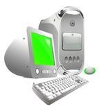 Voller Computer Lizenzfreie Stockfotografie