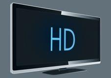 Voller HD Fernsehapparat Lizenzfreies Stockfoto