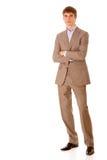 In voller Länge PortraitGeschäftsmann Lizenzfreies Stockfoto