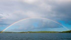 Voller Regenbogenbogen Stockbilder