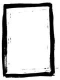 Voller schwarzer gemalter Rand 4 Stockbilder