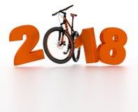 Volles Design des Fahrrades 2018 Lizenzfreie Stockfotografie