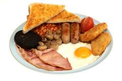 Volles englisches Frühstück Lizenzfreies Stockfoto
