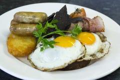Volles englisches Frühstück Lizenzfreie Stockfotografie
