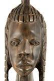Volles Gesicht - Statuette Stockfoto
