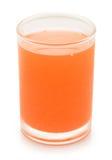 Volles Glas Orangensaft Stockfotografie