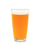 Volles Glas Orangensaft Lizenzfreie Stockfotos