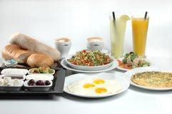 Volles Mahlzeitfrühstück Stockfoto