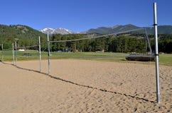Volley βουνών δικαστήριο σφαιρών Στοκ φωτογραφίες με δικαίωμα ελεύθερης χρήσης