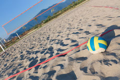 volley παραλιών Στοκ εικόνες με δικαίωμα ελεύθερης χρήσης