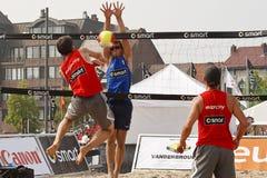 volley παραλιών στοκ φωτογραφίες