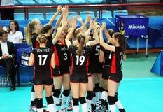 Volley του Βελγίου Στοκ εικόνα με δικαίωμα ελεύθερης χρήσης