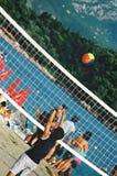 volley κατσικιών σφαιρών Στοκ Εικόνες