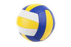 Volley-ball ball. Isolated on white Royalty Free Stock Images