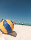 Volley ball on the beach Stock Photos