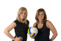 Volley Ball Team Stock Images