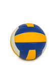Volley ball on white background Stock Photos