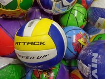 Volley balls Royalty Free Stock Photo