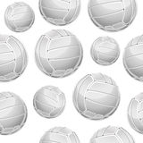 Volley Balls Seamless pattern. Stock Image